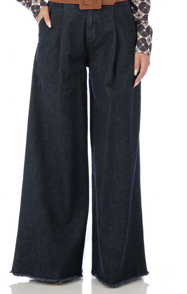 Jeans palazzo  - BLU